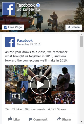 Facebook Feed Placeholder